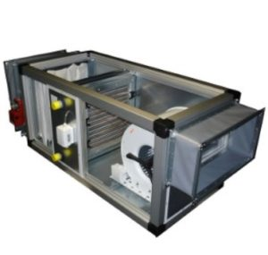 Luchtbehandelingsgroepen en box ventilatoren