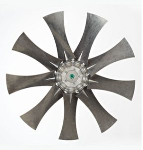 Aluminium axiale schoepenwielen