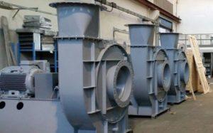 Medium pressure fans