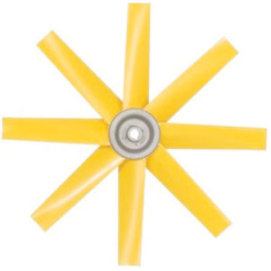 Fixed axial impellers