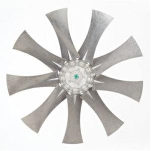 Aluminium axial impellers