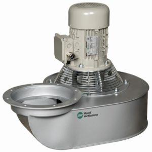 Ventilatoren voor industriële ovens